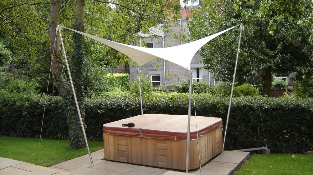 Outdoor Sun Sail Canopy & Premium Garden Sails u2013 Contemporary Shade Structures - UK Experts