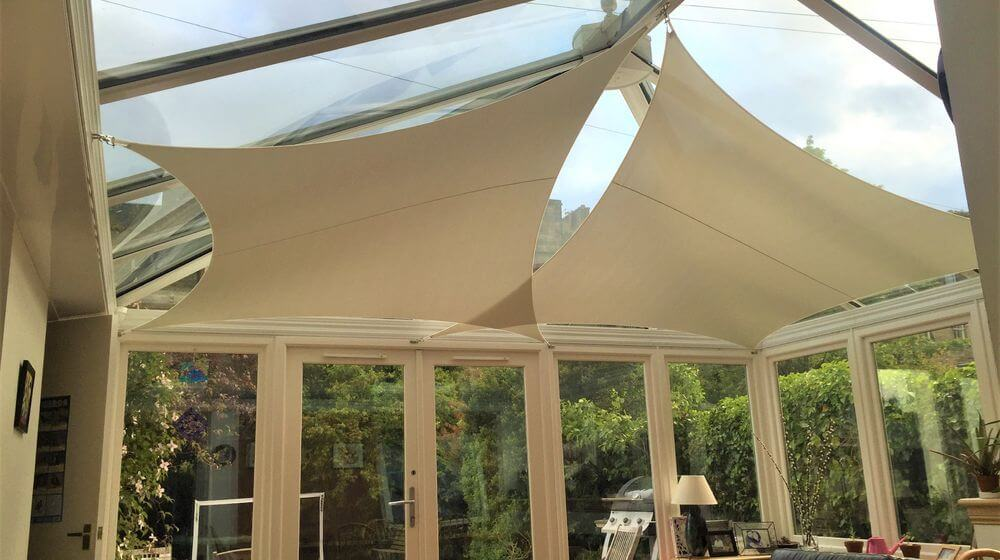 InShade: Conservatory Sail Blinds to control Heat and Glare