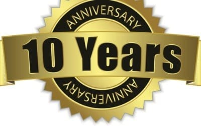 We are approaching our ten year anniversary!