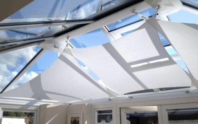 Cooling & Shading your Conservatory, Orangery or Sunny Glazed Roof Spaces