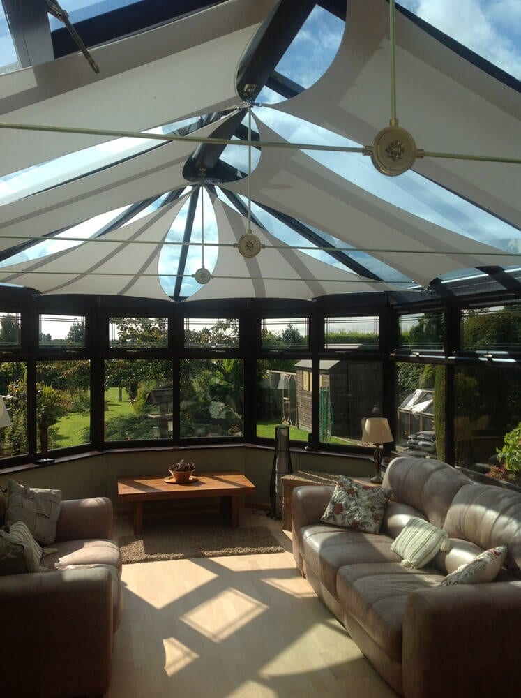 Shade Plus Conservatory Sail Blinds