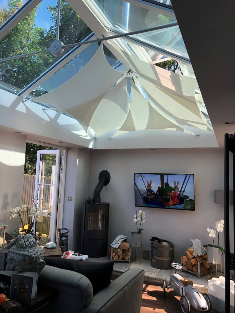 Shade Plus Roof Lantern